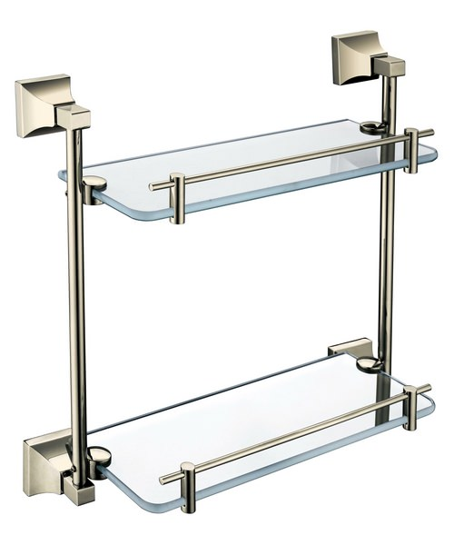 Alternate image of Heritage Chancery 408mm Double Glass Shelf