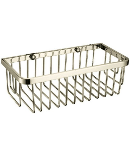 Alternate image of Heritage 250 x 120mm Rectangular Wire Basket