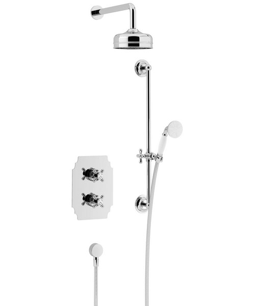 Heritage Hartlebury Recessed Thermostatic Valve With Head And Kit