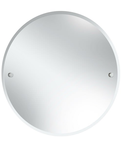Heritage Harlesden 610mm Round Mirror With Fitting