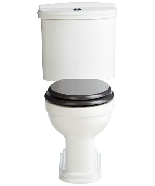 Heritage Claverton Close Coupled WC Pan White 711mm And Cistern