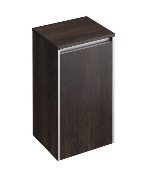 Pura Xcite 350 x 300mm Dark Oak Single Door Side Storage Unit