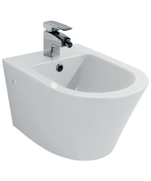 Pura Arco 1 Tap Hole Wall Hung Bidet 520mm