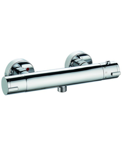 Pura Arco Exposed Thermostatic Bar Shower Valve