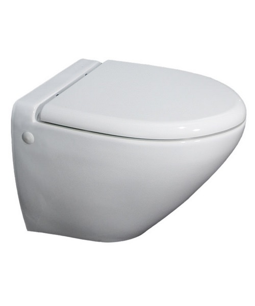 RAK Reserva Wall Hung Vitreous China White WC Pan 555mm