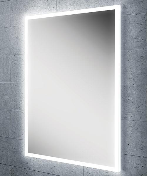 HIB Globe 50 Steam Free LED Illuminated Bathroom Mirror 500 x 700mm