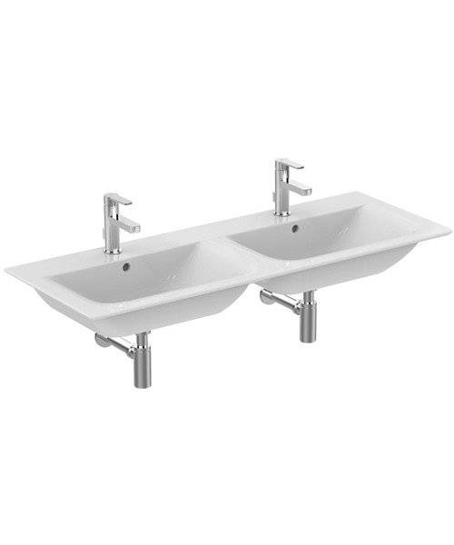 Ideal Standard Concept Air Cube 1240 x 460mm Double Vanity Washbasin