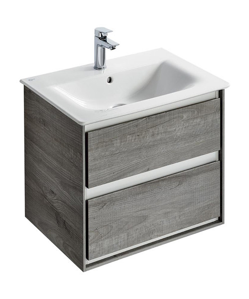 Ideal Standard Concept Air 600mm Wall Hung 2 Drawers Vanity Unit
