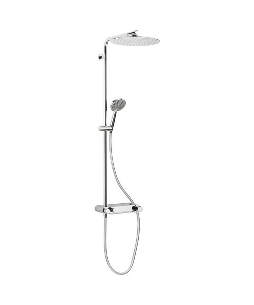 Crosswater Ethos Thermostatic Shower Valve With Head And Handset
