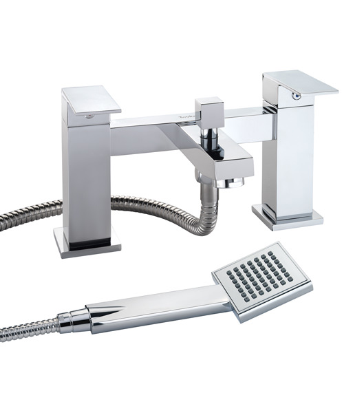 Twyford X62 Deck Mounted Bath Shower Mixer Tap