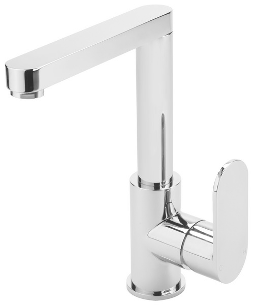 Sagittarius Metro Side Lever Basin Mixer Tap With Sprung Waste