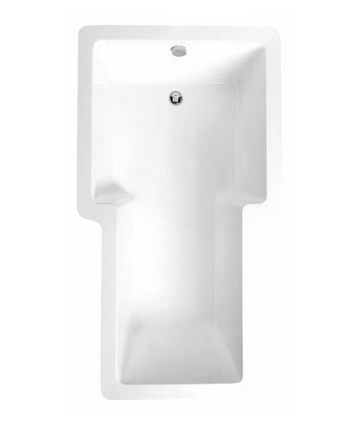 Phoenix Trident Single Ended 1800 x 1000mm Inset Bath White