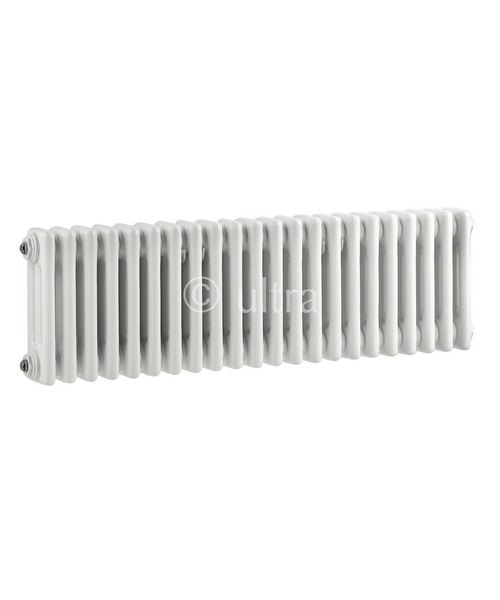 Ultra Colosseum White Finish Triple Column 1011 x 300mm Radiator