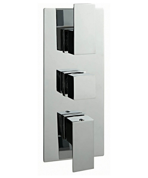 Phoenix CU Series Concealed Thermostatic Valve Of 3 Outlet With Diverter