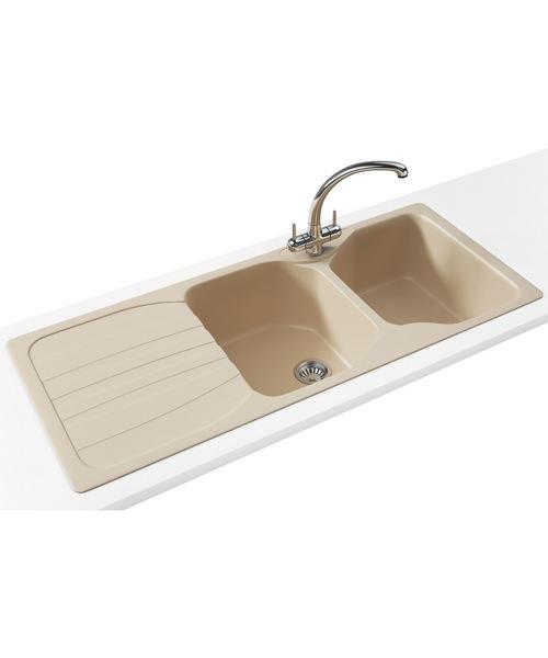 Franke Calypso COG 621 Propack - Fragranite Coffee Sink And Tap
