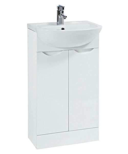 Phoenix Trend 500mm White Vanity Unit With Basin