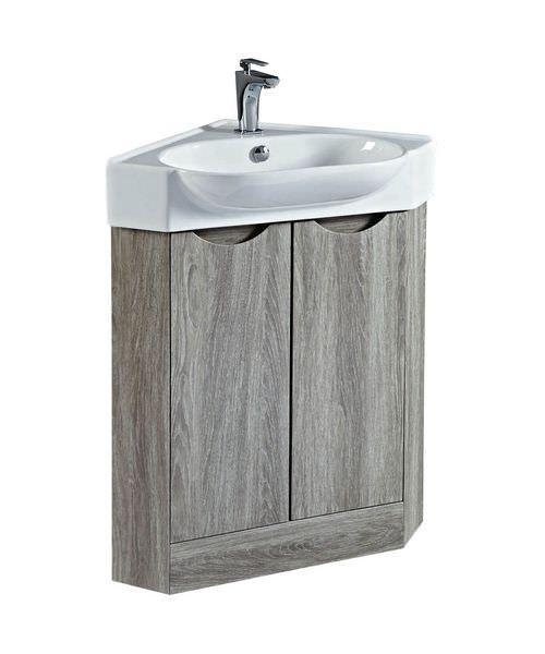 Phoenix Dakota 51cm Corner Vanity Unit And Sink