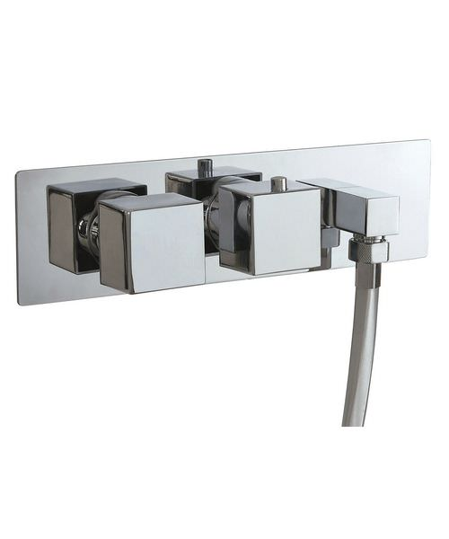 Phoenix SQ Series Concealed Dual Function Twin Valve With Outlet Elbow