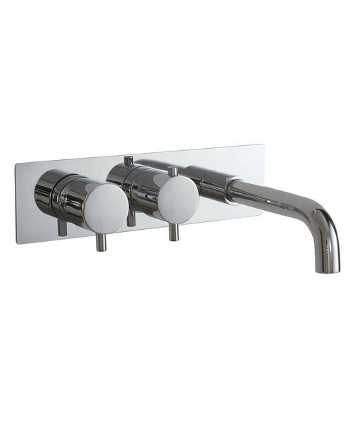 Phoenix RO Series Concealed Dual Function Twin Valve With Bath Spout