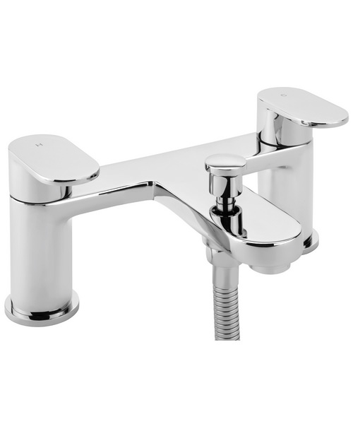 Sagittarius Metro Deck Mounted Bath Shower Mixer Tap With No.1 Kit