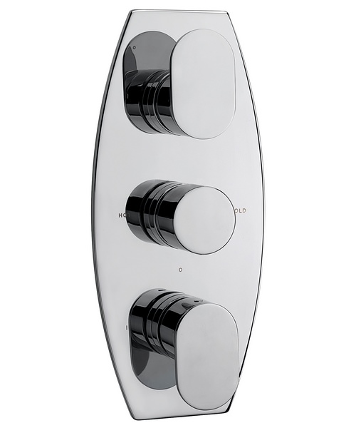 Sagittarius Metro Concealed Thermostatic Shower Valve With 3 Way Diverter