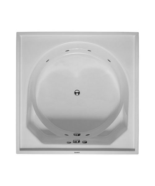Duravit Blue Moon 1400mm Square Bath With Jet System
