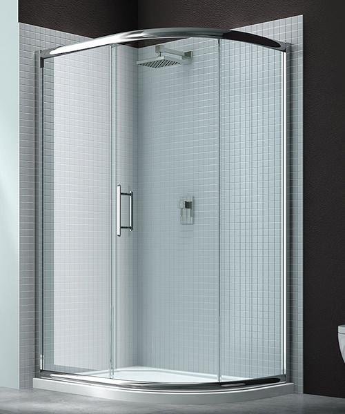 Merlyn 6 Series 1 Door Offset Shower Quadrant 1000 x 800mm