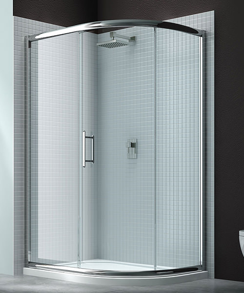 Merlyn 6 Series 1 Door Offset Shower Quadrant 1200 x 800mm