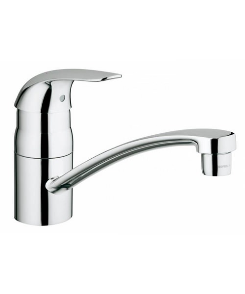 Grohe Euroeco Single Lever Kitchen Sink Mixer Tap