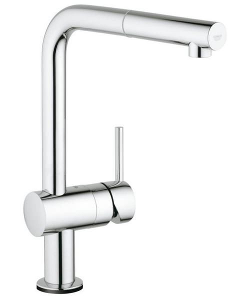 Grohe Minta Electronic Half Inch Single Lever Kitchen Sink Mixer Tap