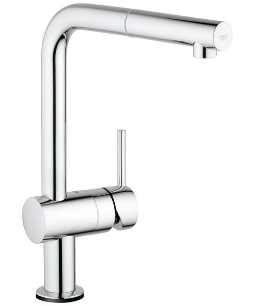 Grohe Minta Touch Electronic Single Lever Kitchen Sink Mixer Tap Chrome