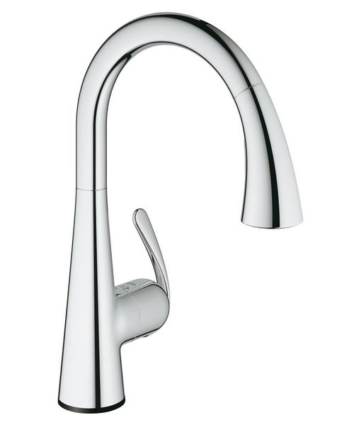 Grohe Zedra Touch Electronic Single Lever Sink Mixer Tap Chrome