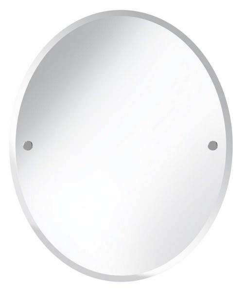 Bristan Oval 610 x 500mm Mirror Chrome