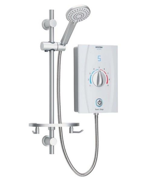 Bristan Joy Care Thermostatic 9.5KW Electric Shower White