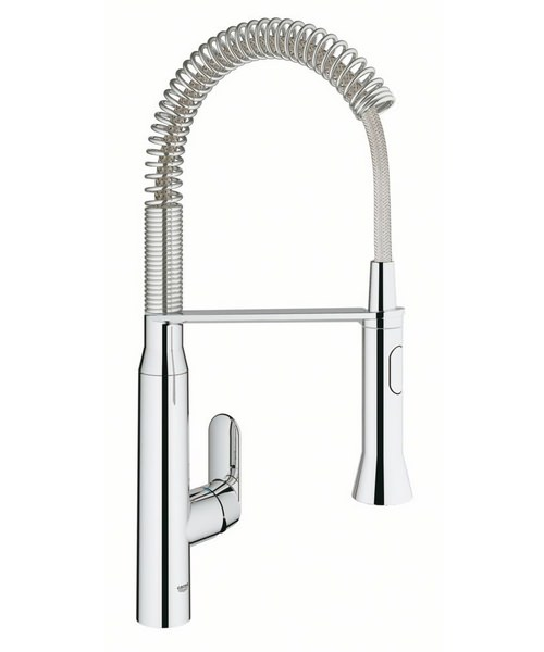 Grohe K7 Foot Control Electronic Kitchen Sink Mixer Tap