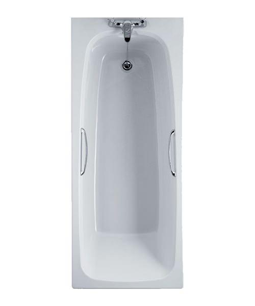 Essential Ocean Rectangular Single Ended Bath 1500 x 700mm
