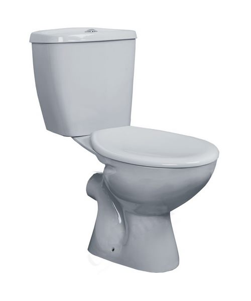 Essential Ocean Closed Coupled Pan With Cistern And Soft Close Seat