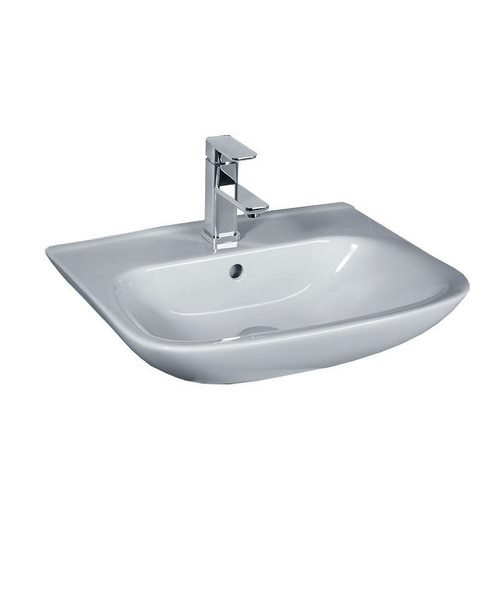 Essential Violet 520mm Basin With Single Tap Hole