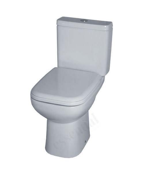 Essential Violet Close Coupled WC Set