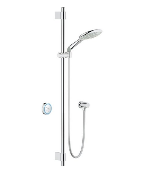 Grohe Rainshower Solo Digital Shower Set With Digital Thermostat Unit