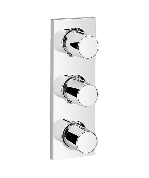 Grohe Spa Grohtherm F Concealed Valve Trim With Triple Volume Control