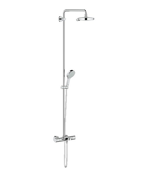 Grohe Spa Power And Soul Cosmopolitan Shower Set With Bath Thermostat