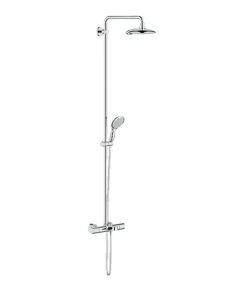 Grohe Spa Power And Soul Exposed Thermostatic Bath Shower Set