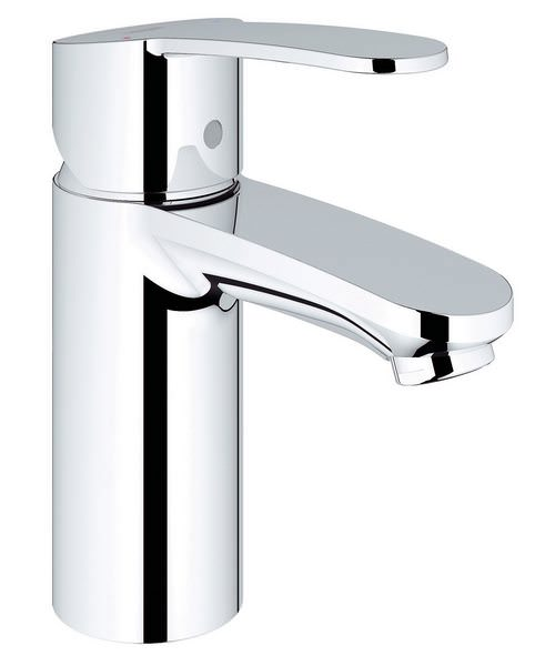 Grohe Eurostyle Cosmopolitan Basin Mixer Tap With Metal Lever Handle