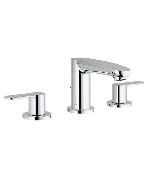 Grohe Eurostyle Cosmo Three Hole Basin Mixer Tap
