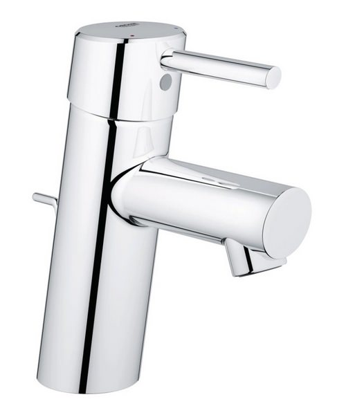 Grohe Concetto Half Inch Basin Mixer Tap With Pop-Up Waste