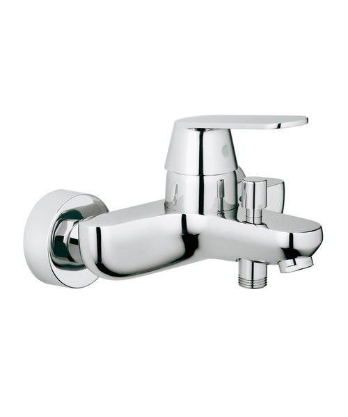 grohe eurosmart cosmopolitan wall mounted bath shower. Black Bedroom Furniture Sets. Home Design Ideas