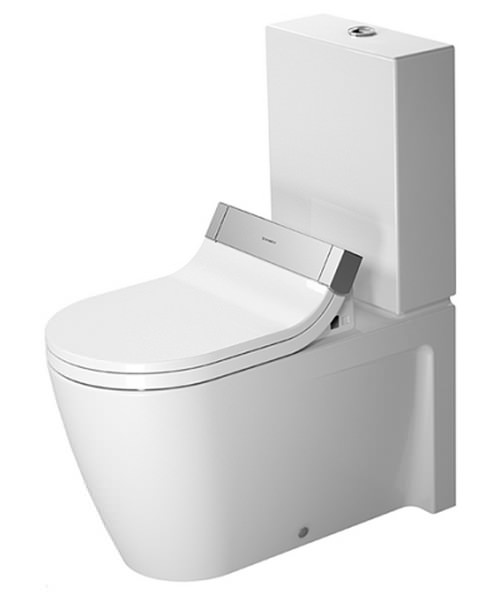 Duravit Starck 2 Close Coupled Toilet With SensoWash Seat
