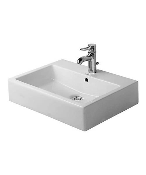 Duravit Vero White 500 x 470mm Ground Counter Top Basin