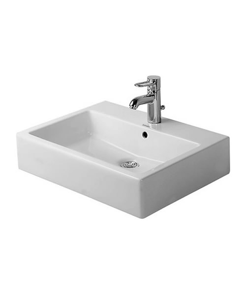 Duravit Vero Ground Counter Top Basin With Overflow